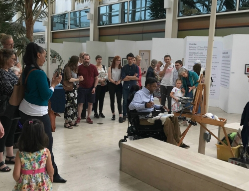 'Now You See Me' exhibition opening at Central Milton Keynes