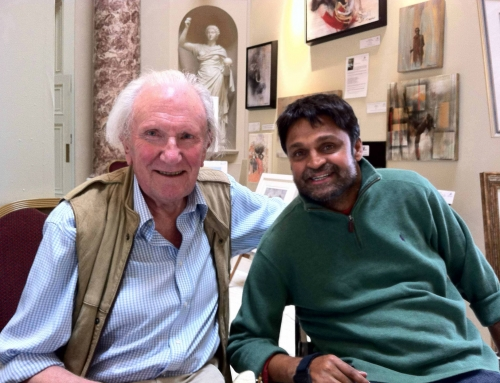 Inspired by the gift of membership to his Wildlife Foundation, I've been remembering the late David Shepherd and all his wisdom and advice on how to be a successful artist.  How fantastic to have achieved so much in his career AND to have made such a difference to wildlife conservation